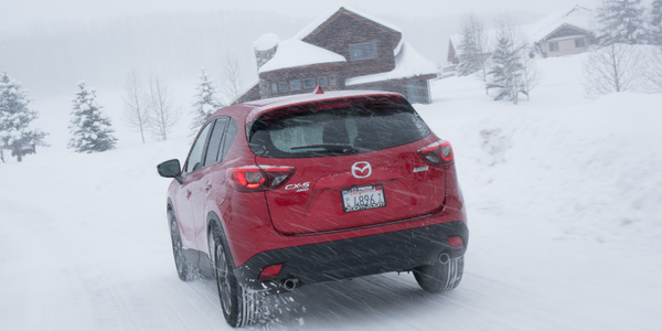 Wintery conditions allowed the i-ACTIV AWD system to provide a real-world demonstration of its...