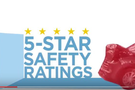 NHTSA's New 5-Star Crash-Test Criteria Will Increase Safety and Acquisition Costs