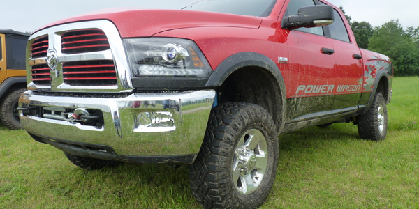 Ram Power Wagon takes a Ram 2500 and turns it into an off-road champion.