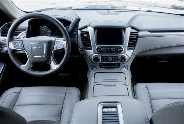 Photo of Yukon Denali's interior by Vince Taroc.