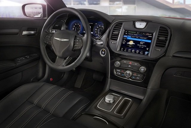 Photo of 300S interior courtesy of Fiat Chrysler Automobiles.