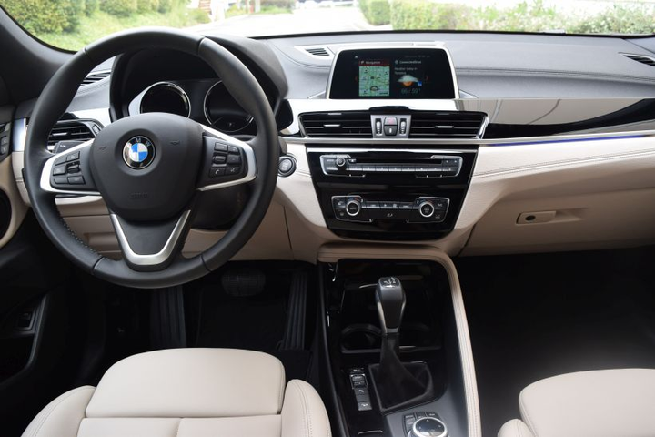 The BMW X2xDrive 28i includes driving dynamics control with eco pro, comfort, and sport settings, as well as dynamic stability control,offers brake drying, brake stand-by, start-off assistant and brake fade compensation. - Photo by Andy Lundin