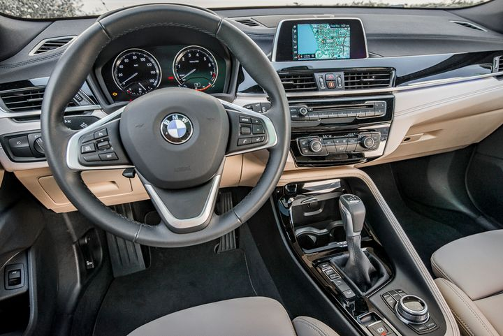 The BMW X2 xDrive 28i includes driving dynamics control with eco pro, comfort, and sport settings, as well as dynamic stability control, offers brake drying, brake stand-by, start-off assistant and brake fade compensation.