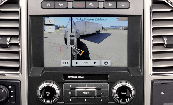 Backup cameras are among a range of factory features that improvesafety in fleets.  - Photo courtesy of Ford.