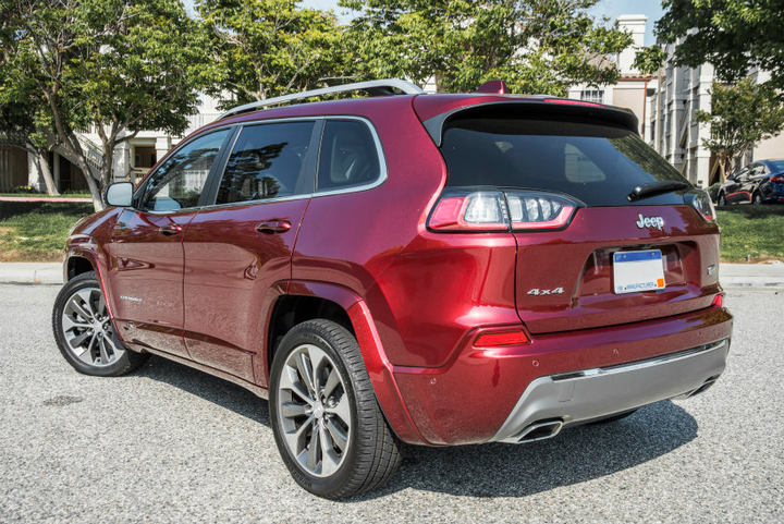 The 2019 Jeep Cherokee adds a tourbocharged four-cylinder engine to its engine lineup.  - Photo by Kelly Bracken.