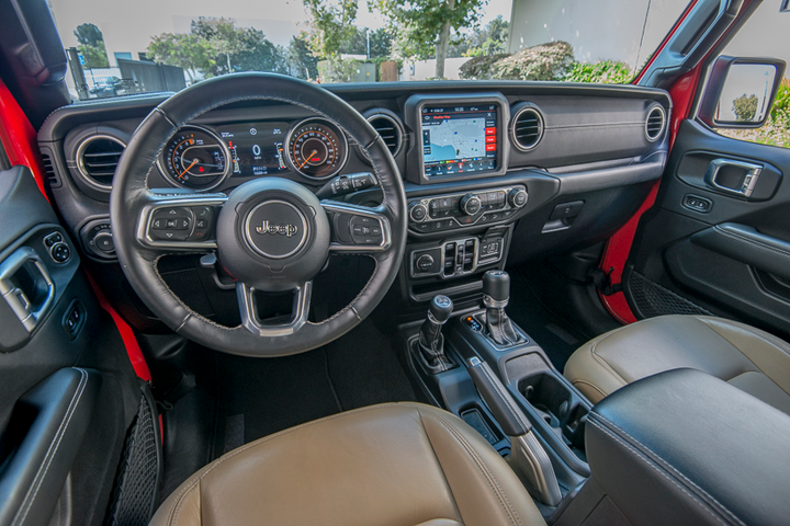 Interior upgrades add connectivity and comfort.