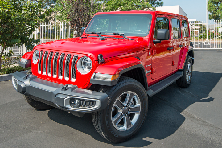Exterior styling cues shift toward a more classic Jeep look.