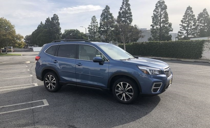 The 2019 Forester is built on a new platform called the Subaru Global Platform, which it shares with the larger Ascent SUV, Crosstrek compact SUV, and Impreza sedan.
