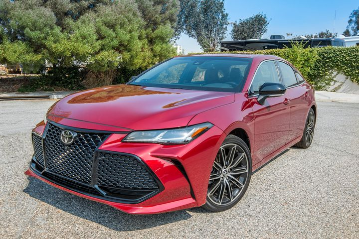 2019 toyota avalon touring driving notes automotive fleet. Black Bedroom Furniture Sets. Home Design Ideas