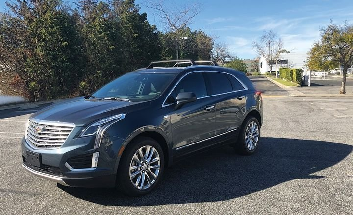 The 2019 Cadillac XT5 has an upscale and comfortable ride with distinctive exterior styling. On the inside, the XT5 has a quiet interior with spacious front and back seats and plenty of cargo space. - Photo by Mike Antich