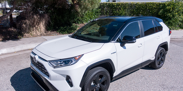 With increased ground clearance and truck styling cues, the Rav4 Hybrid XSE (a trim exclusive to...