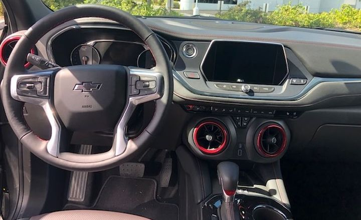 On the interior, the Blazer is noticeably quiet, which is enhanced by the standard active noise cancellation system. - Photo by Mike Antich.