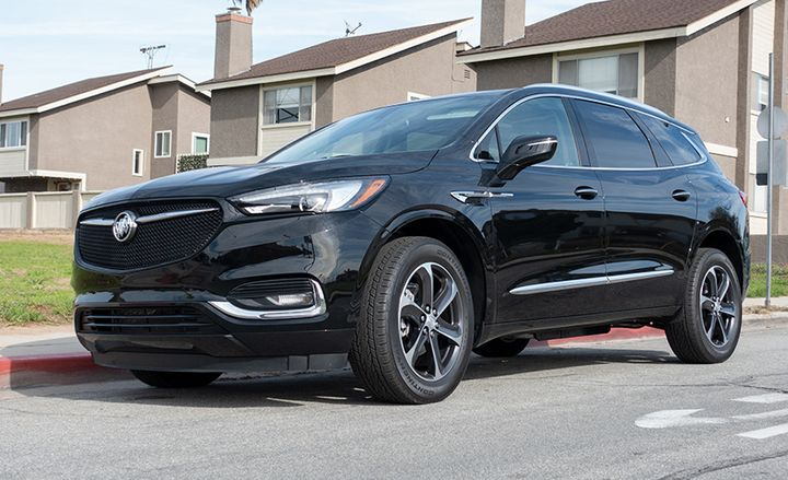 The 2020 Buick Enclave's new Sport Touring package is available on the Essence trim. - Photo by Vince Taroc.