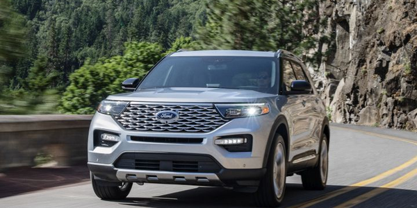 Ford's sixth-generation 2020 Explorer adds new powertrains, including a hybrid, and safety...