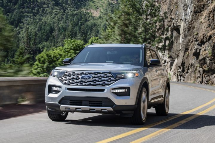 Ford's sixth-generation 2020 Explorer adds new powertrains, including a hybrid, and safety technology.  - Photo courtesy of Ford.