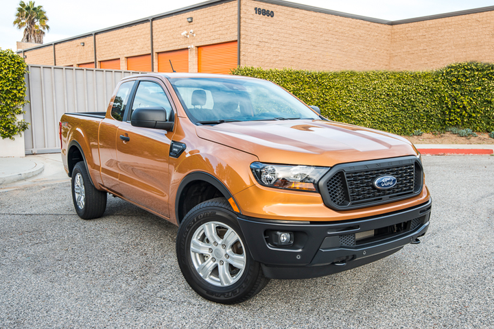 The 2019 Ranger is back to reclaim acolytes of the earlier-generation smaller pickup.  - Photo by Kelly Bracken.