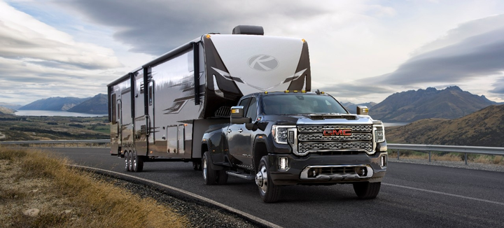 GM's 15-view camera system — which is also found in the 2020 GMC Sierra 1500 and Chevrolet Silverado — was also a big boon during the drive experience. Transparent trailering continues to be a joy to use, as it provides a clear picture of what's behind you even when towing a large trailer.