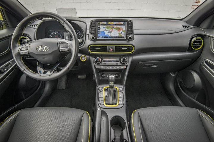 The Ultimate package comes with plenty of interior amenities, such as a heads up display, charging station, and leather seats.  - Photo by Kelly Bracken.