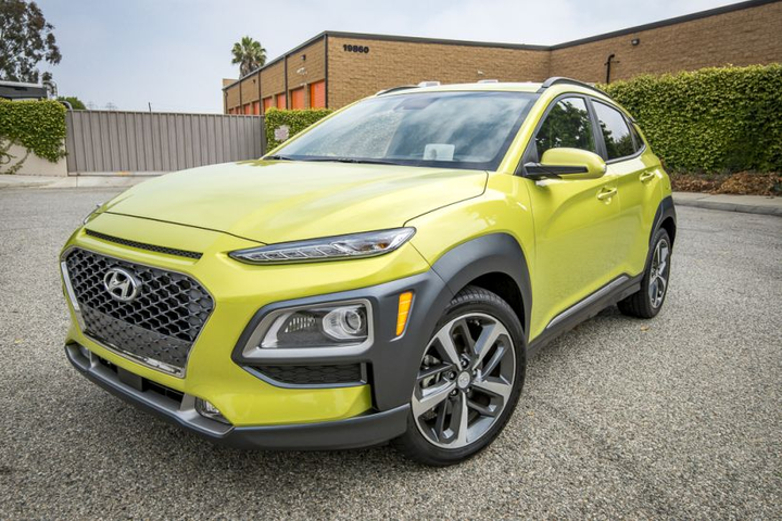 The 2018 model-year is the first model year for the Hyundai Kona. 