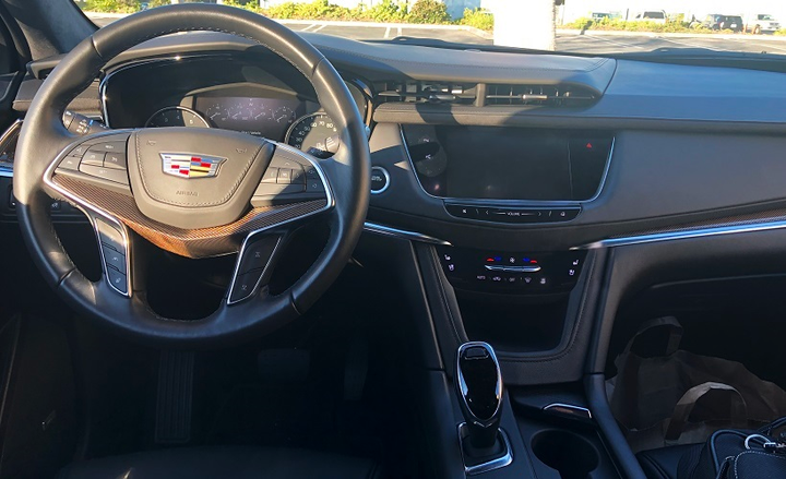 The Cadillac XT5 is also a productivity tool whose intelligent technology and the Cadillac user experience seamlessly helps drivers stay connected and productive. - Photo by Mike Antich