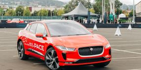 Electrified by Jaguar's 2019 I-Pace