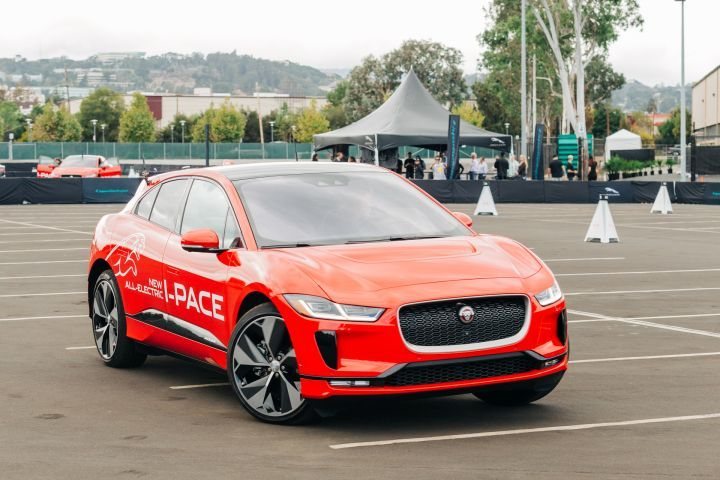 Jaguar's I-Pace electric crossover went on sale in November as its first electric vehicle.