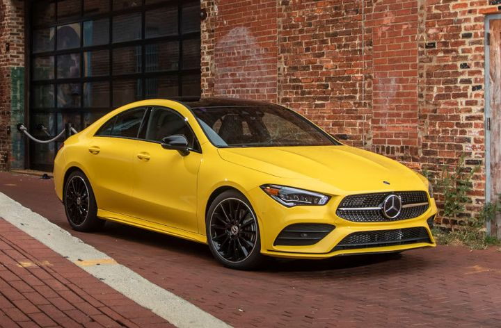 The 2020 CLA 250 enters its second generation as a longer, more stylish compact sedan. - Photo courtesy of Mercedes-Benz.