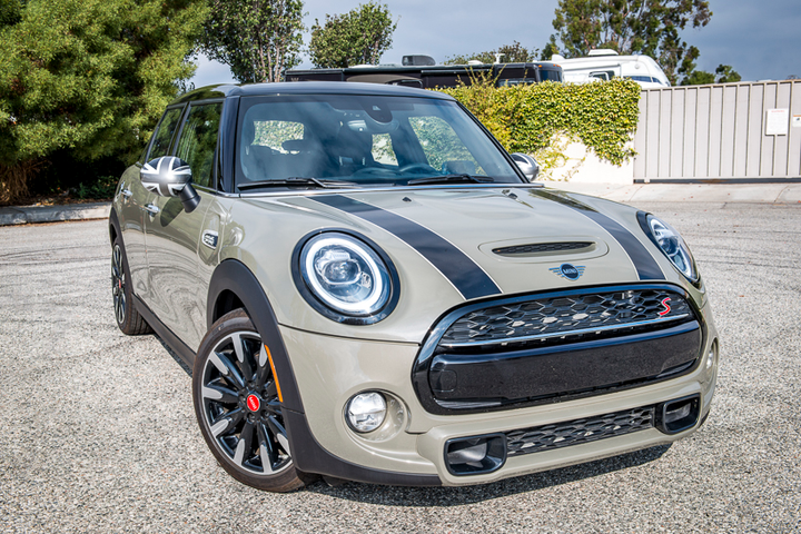 BMW's Mini Cooper Hardtop 4 Door is an ideal for a fleet with branding in mind.