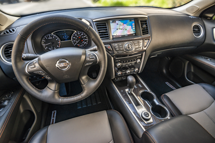The Rock Creek addition adds leather surfaces and an upgraded 8-inch touchscreen.  - Photo by Kelly Bracken.