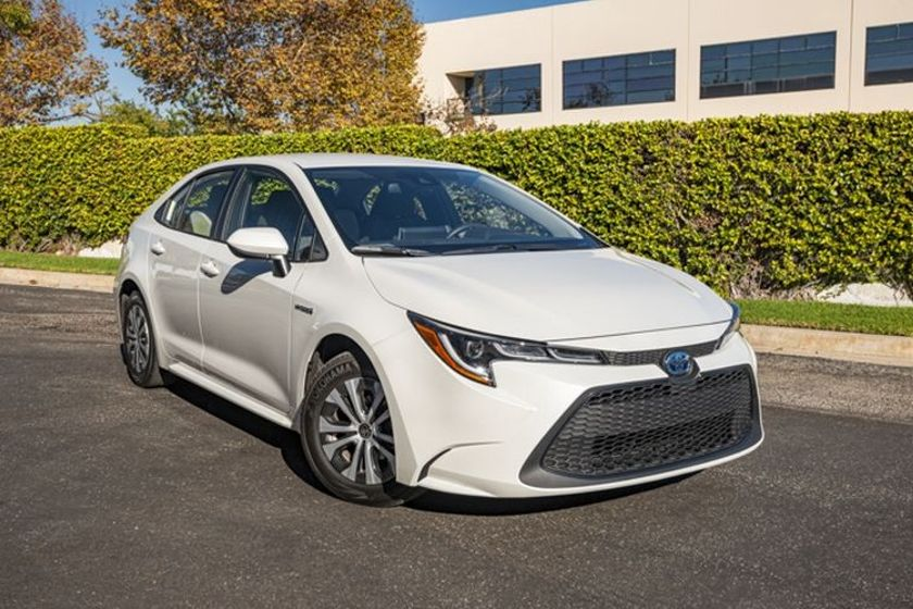 The Corolla Hybrid LE is equipped with Toyota's Safety Sense 2.0, which offers a pre-collision...