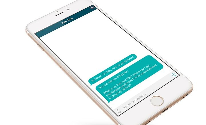 The MyLeasePlan Mobile app now includes an intelligent virtual assistant,called Elle. The feature is able to deliver provide immediate fleet-related feedback, and can assist with various driver needs. - Graphic courtesy of LeasePlan.