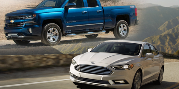 The Ford Fusion and Chevrolet Silverado achieved the honor last year and in 2017.