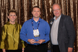 Red Hawk Fire & Security's Schober Wins Fleet Safety Award