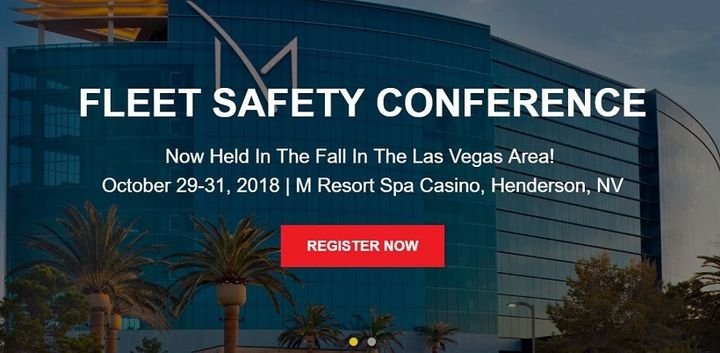 The award honors a fleet or risk manager whose leadership, innovation, and measurable results have enhanced the safety of fleet drivers and the general public.  - Photo screenshot from Fleet Safety Conference home page.