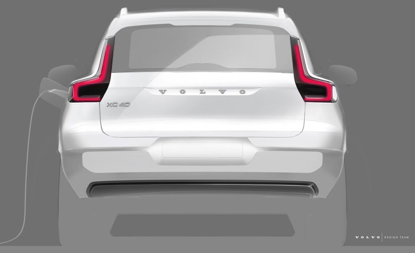 The automaker said the removal of an internal combustion engine for the EV XC40 helped create extra room for even more storage space under the front hood. - Photo courtesy of Volvo.