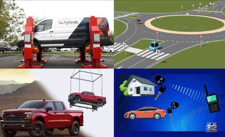 Here are the top videos of 2018 on AutomotiveFleet.com.  - Screenshots courtesy of (clockwise from upper right) Kareem Girgis, Cars.com, CBS, and Kimberly Pham.