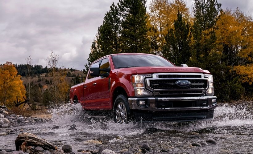 Ford's 2020 Super Duty Adds V-8, 10-Speed