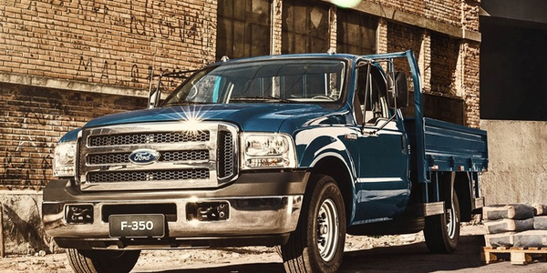 Ending the sale of heavy commercial vehicles, including the F-350,will result in the company...