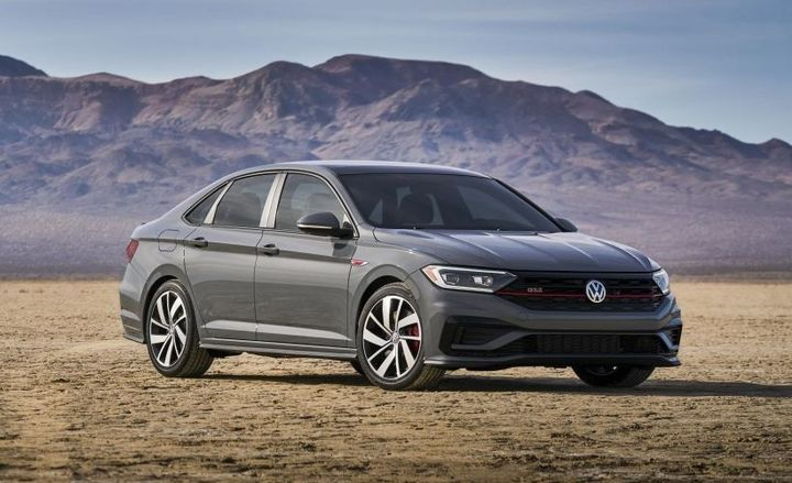 The 2019 Jetta GLI is powered by the company's celebrated 2.0-liter TSI engine that powers the Golf GTI and makes 228 horsepower and 258 pound-feet of torque - Photo courtesy of Volkswagen.