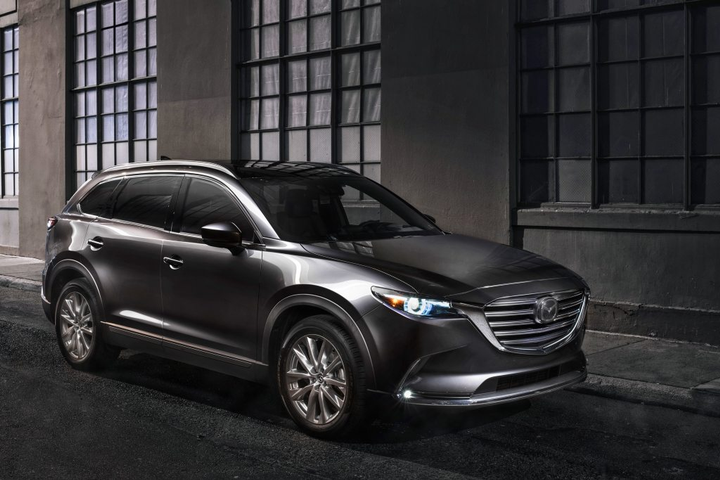 The CX-9 performed well in the government agency's rigorous collision and pre-collision testing. NHTSA's safety evaluations are based on how well vehicles withstand a series of crash tests including frontal, side and rollover tests. - Photo courtesy of Mazda