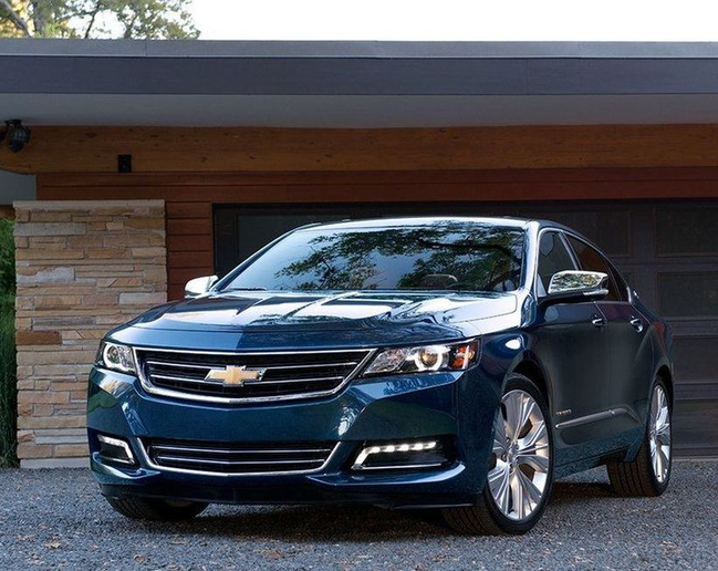 Winning GM vehicles this year for Vincentric's annual Best Fleet Value in Canada awards included the Impala (pictured) and Chevrolet Express 3500. - Photo courtesy of GM.
