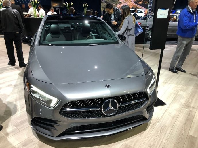 The A-Class entry sedan will remain an important offering for executive drivers in the 2020-MY Mercedes-Benz lineup. - Photo by Chris Wolski.