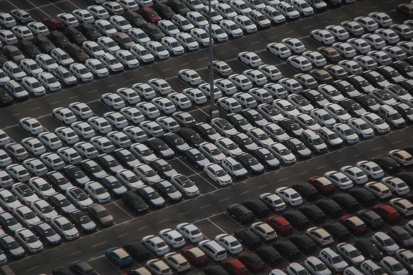 Total fleet sales for the month — which is comprised of commercial, rental, and government sales...