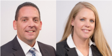 Fleet Response has promoted Roger Cervenka and Kari Hagan, the accident management provider has announced. - Photos courtesy of Fleet Response.