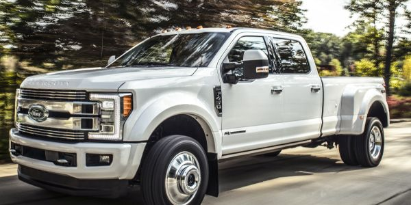 Ford is recalling more than 500,000 of its Super Duty trucks from 2017 to 2019 for increased...