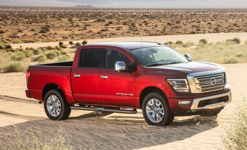 2020 nissan titan pricing starts at $36,190 - vehicle