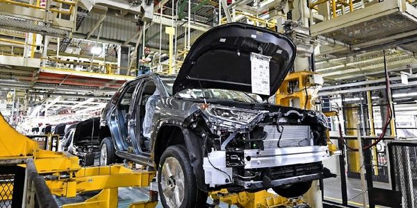 The Toyota Motor Manufacturing Kentucky plant now produces four electrified vehicles, including...