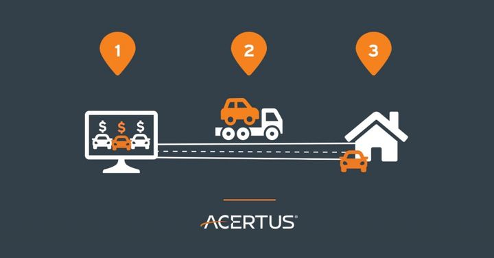 This record year for ACERTUS comes at a time when last-mile logistics are expected to be a core focus of change for the automotive industry.  - Image via ACERTUS.