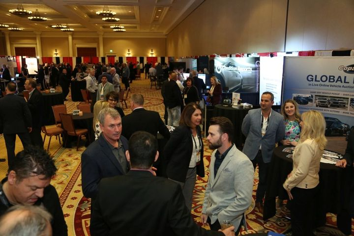 Networking was a vital component of the 2019 Conference of Automotive Remarketing.  - Photo by Steve Reed.