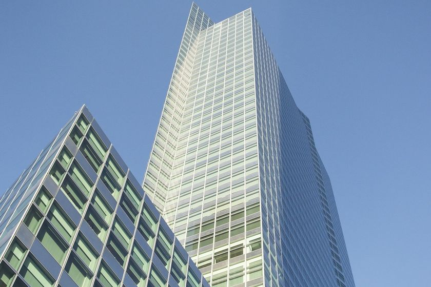 Goldman Sachs has commited to install electric vehicle charging stations at its owned office...
